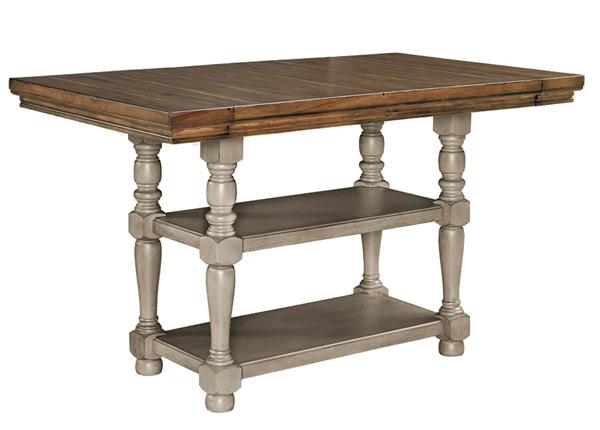 Jatkettava baaripöytä 158/219x92 cm