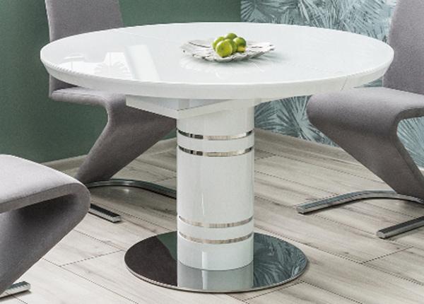 Удлиняющийся обеденный стол Stratos 120x120-160 cm
