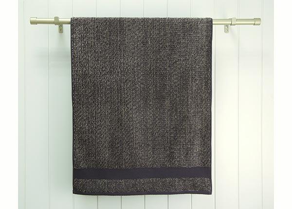Махровое полотенце Melange 70x140 cm, дымчато-коричневый