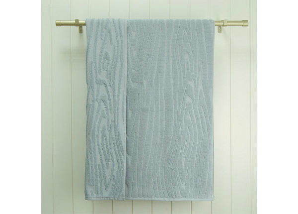 Махровое полотенце Wood 48x90 cm, синий