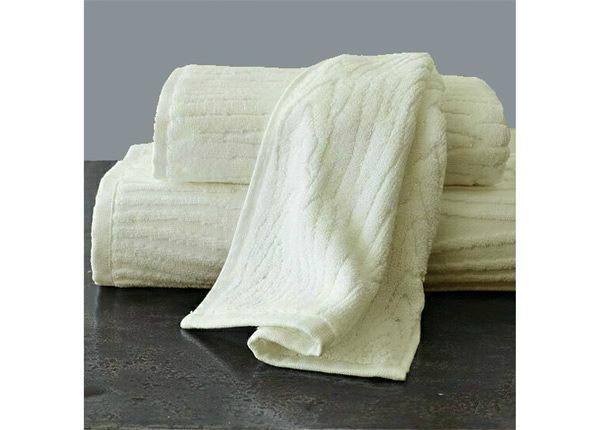 Махровое полотенце Wood 48x90 cm, белый