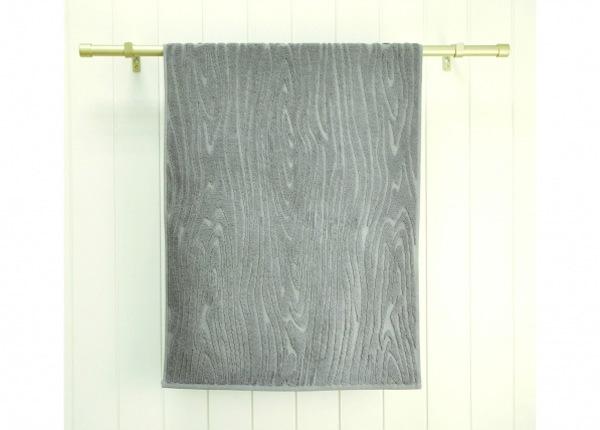 Махровое полотенце Wood 48x90 cm, серый