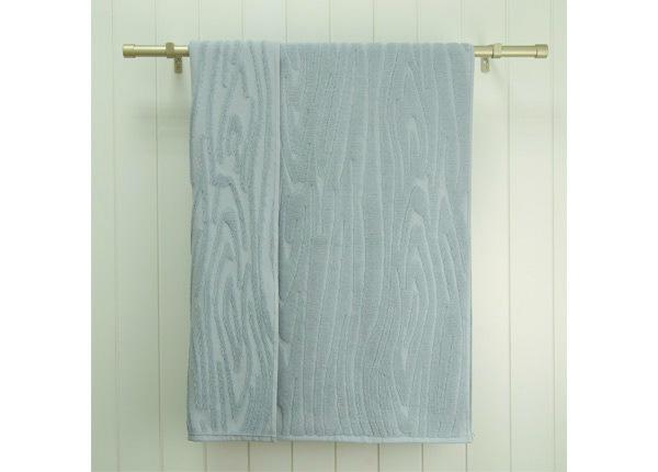 Махровое полотенце Wood 70x140 cm, синий