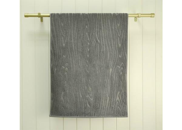 Махровое полотенце Wood 70x140 cm, серый