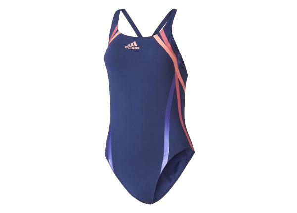 Naiste ujumistrikoo adidas Rubber-Printed Swimsuit Infinitex® W BR5724