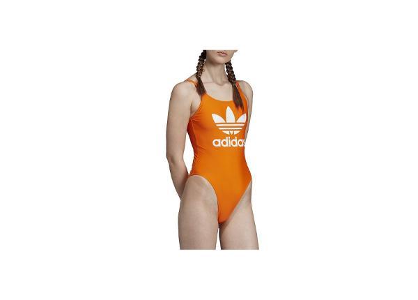Ujumistrikoo naistele adidas Trefoil W ED7470