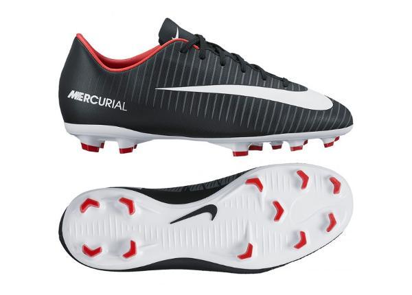 Lasten jalkapallokengät Nike Mercurial VAPOR XI FG Jr 831945-002