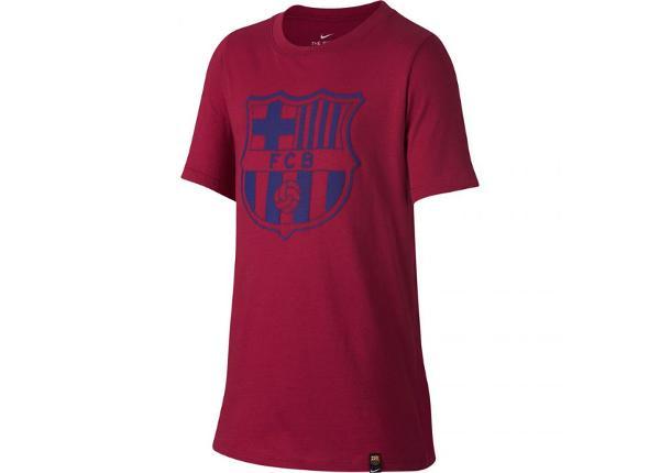 Lasten jalkapallopaita Nike FC Barcelona B NK CREST Junior 859192-620
