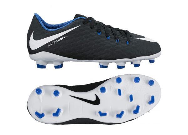 Lasten jalkapallokengät Nike HYPERVENOM PHELON III FG Jr 852595-002