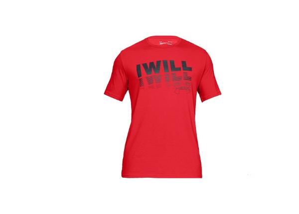 Treeningsärk meestele Under Armour I Will 2.0 Short Sleeve Tee M 1329587-633
