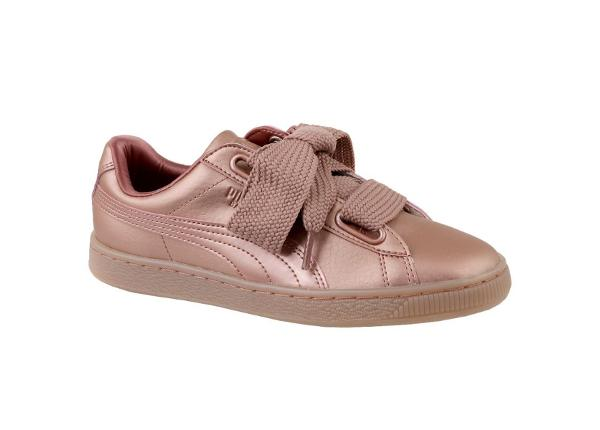 Vabaajajalatsid naistele Puma Basket Heart Copper W 365463-01