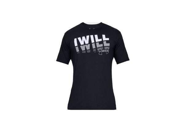 Vabaajasärk meestele Under Armour I Will 2.0 Short Sleeve Tee M 1329587-001