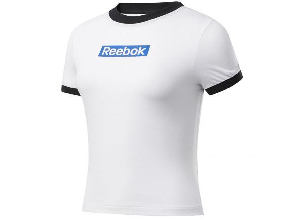 Женская футболка Reebok Training Essentials Linear Logo Tee W FK6680