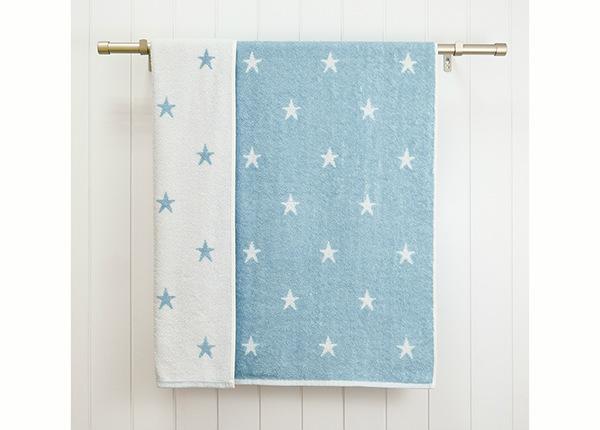 Laste froteerätik Stars 70x120 cm, sinine