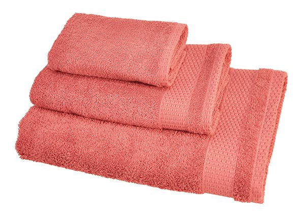 Комплект махровых полотенец Madison, розовый