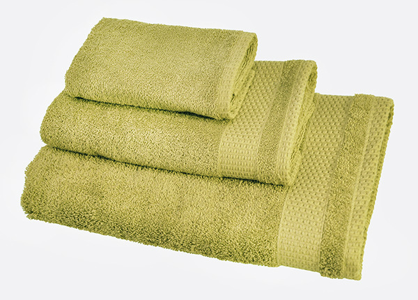 Комплект махровых полотенец Madison, зелёный