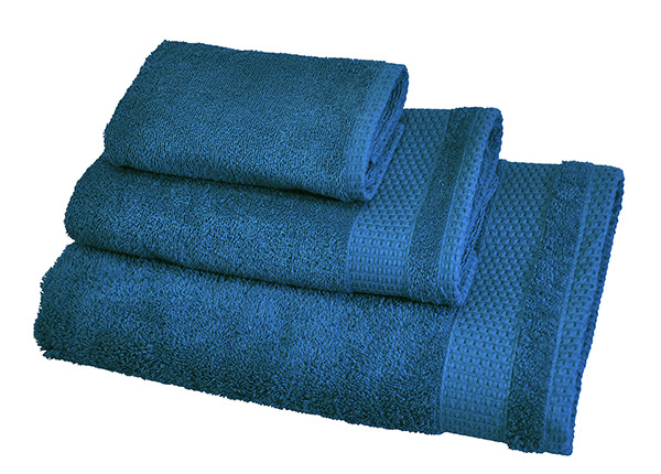 Комплект махровых полотенец Madison, морской синий