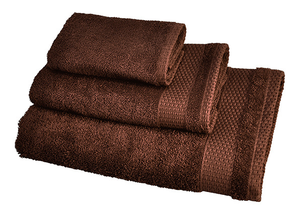 Комплект махровых полотенец Madison, коричневый