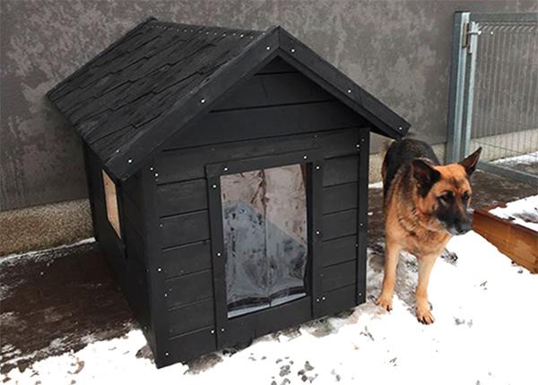 Lämpöeristetty koirankoppi Jacky 2