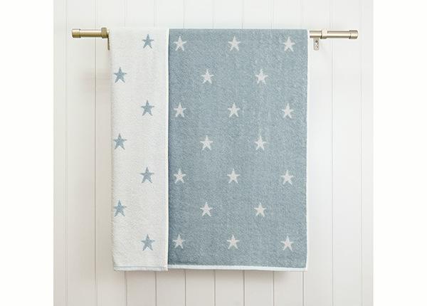 Махровое полотенце Stars 70x120 cm, джинсовый синий