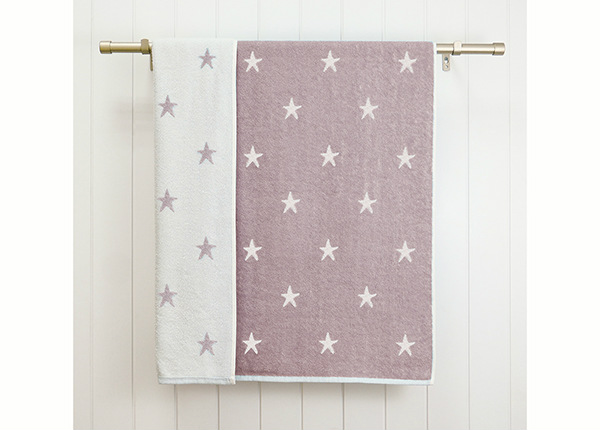 Froteepyyhe Stars 70x120 cm, violetti