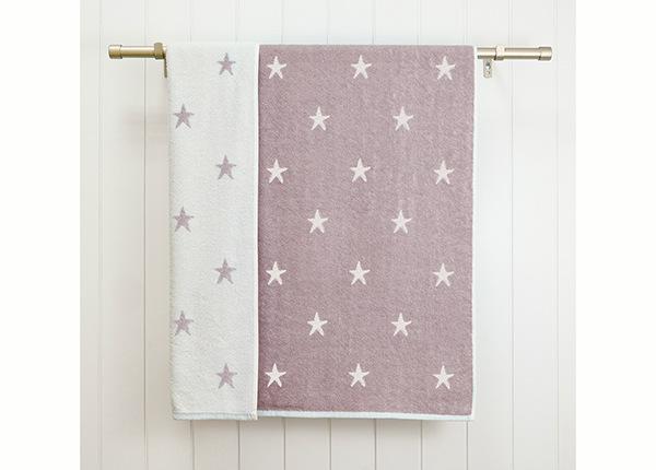 Махровое полотенце Stars 70x120 cm, лиловый