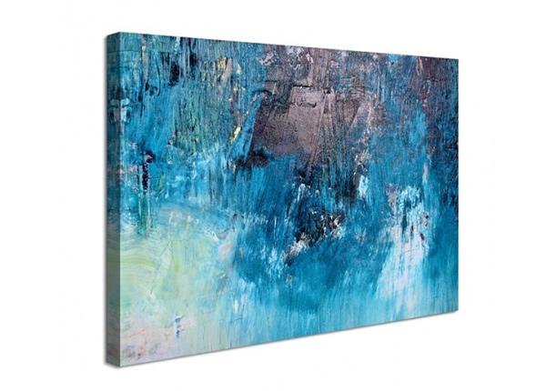 Seinätaulu Abstract blue 60x80 cm ED-227902