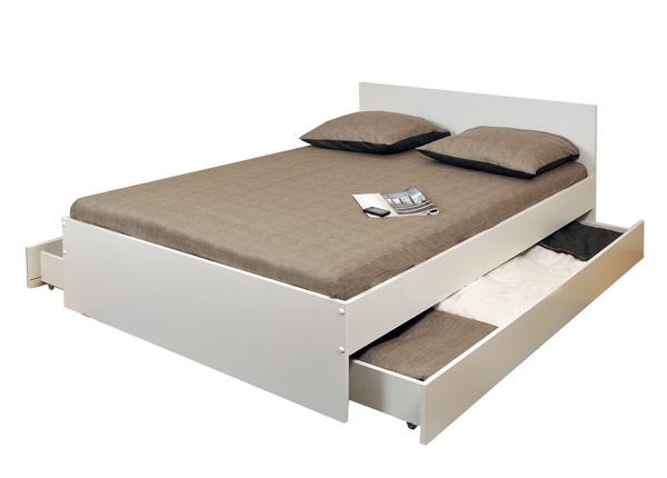 Кровать с двумя ящиками Oslo