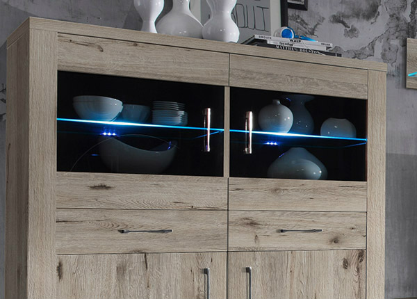 LED kiinnike lasihyllyyn 2 kpl