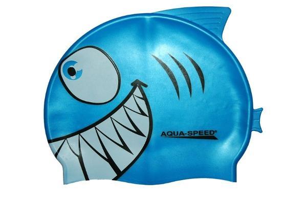 Laste Ujumismüts Aqua-Speed Silikoon SHARK