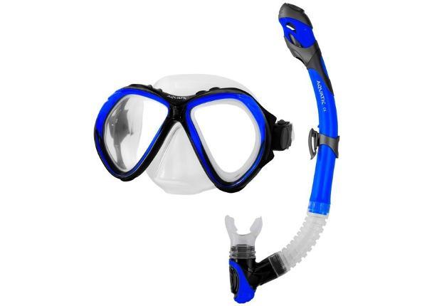 Täiskasvanute snorgeldamise komplekt Aqua-Speed Zona + Elba