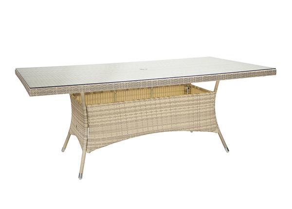 Puutarhapöytä Wicker EV-229631