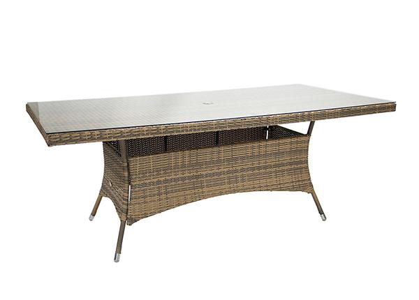 Puutarhapöytä Wicker EV-229635