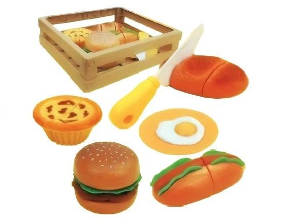 Toiduainete komplekt korvis - Burger UP-229727