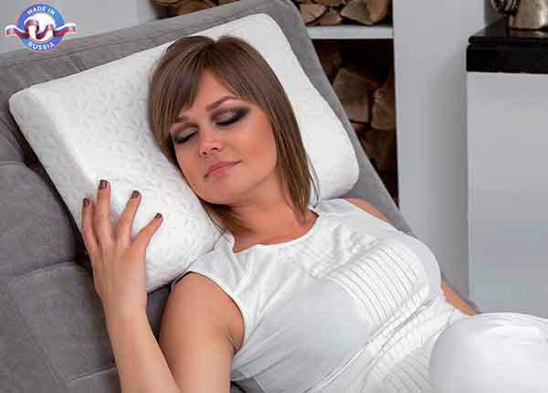 Padi Ortopeediline MEMORY PLUS foam pillow EcoSapiens