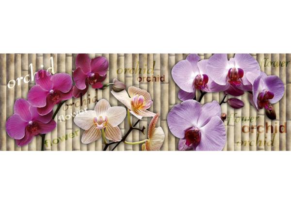 Köögi töötasapinna tagune Orchid