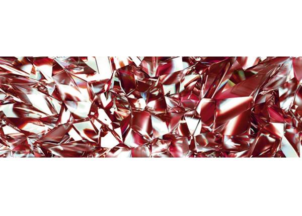 Köögi töötasapinna tagune Red crystal
