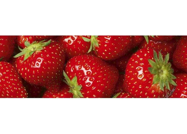 Köögi töötasapinna tagune Strawberry