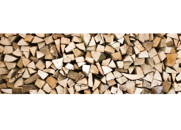 Köögi töötasapinna tagune Timber logs