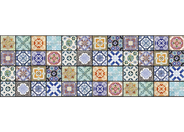 Кухонный ковер Vintage tiles 180x60 см