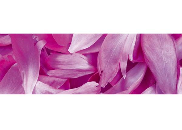 Кухонный ковер Violet petals 180x60 см