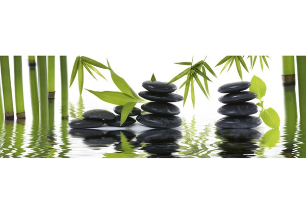 Köögi töötasapinna tagune Zen stones