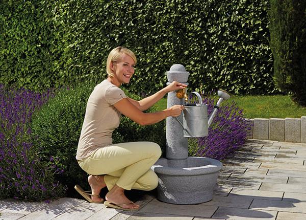 Колонка для воды Roma Lightgranite