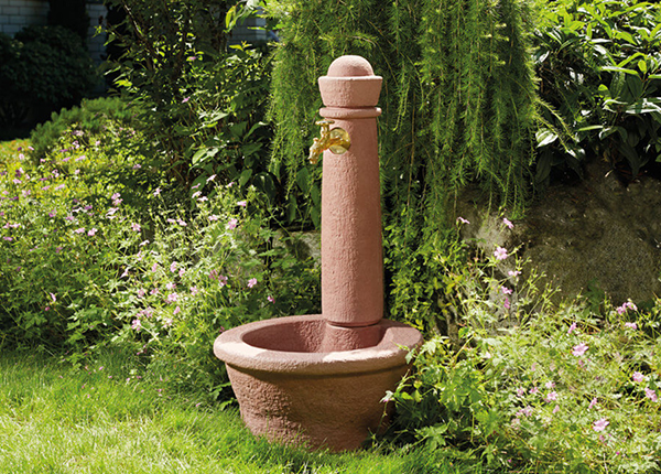 Колонка для воды Roma Redstone