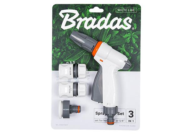 Kastmispüstoli komplekt Bradas