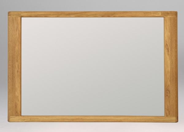 Зеркало из массива дуба