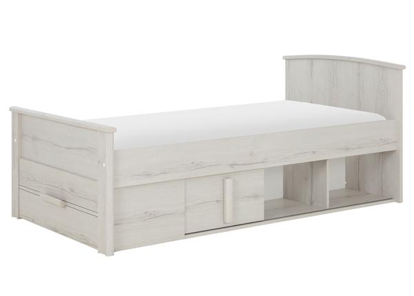 Pesukastiga voodi Montana 90x190 cm MA-230531