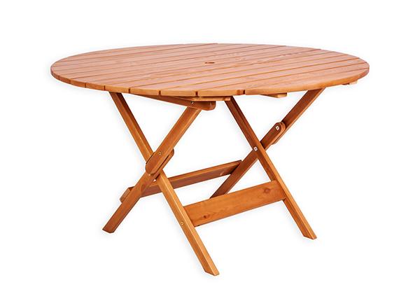 Puutarhapöytä Canada 125x125 cm