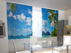 Pimendav kardin Beach behind the window 200x120 cm