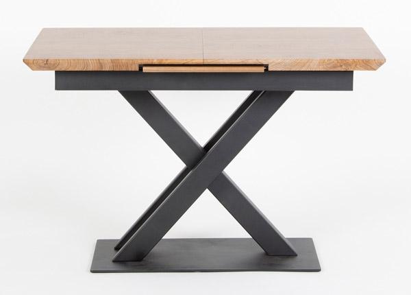 Jatkettava ruokapöytä 120/160x80 cm